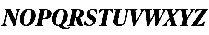IvyPresto Text Bold Italic Font UPPERCASE