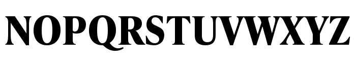 IvyPresto Text Bold Font UPPERCASE