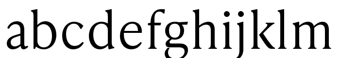 IvyPresto Text Light Font LOWERCASE