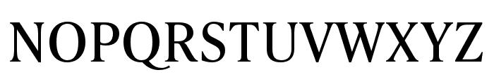 IvyPresto Text Regular Font UPPERCASE