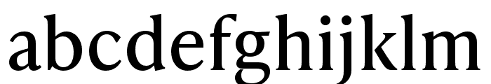 IvyPresto Text Regular Font LOWERCASE