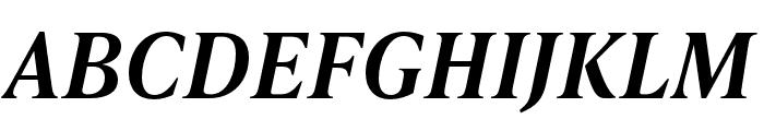 IvyPresto Text SemiBold Italic Font UPPERCASE