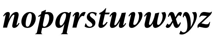 IvyPresto Text SemiBold Italic Font LOWERCASE