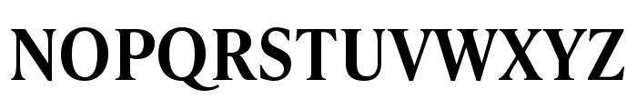 IvyPresto Text SemiBold Font UPPERCASE
