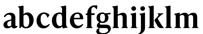 IvyPresto Text SemiBold Font LOWERCASE