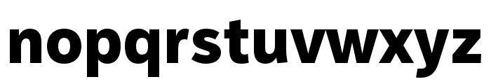 IvyStyle Sans Bold Font LOWERCASE