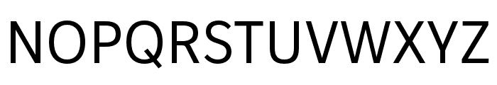 IvyStyle Sans Regular Font UPPERCASE