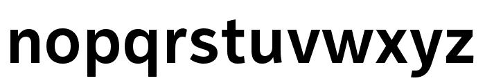 IvyStyle Sans SemiBold Font LOWERCASE