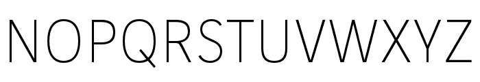 IvyStyle Sans Thin Font UPPERCASE