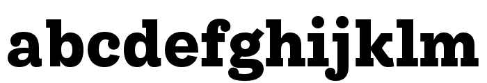 IvyStyle TW Bold Font LOWERCASE