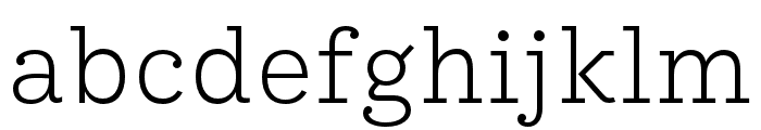 IvyStyle TW Light Font LOWERCASE