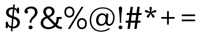 IvyStyle TW Regular Font OTHER CHARS
