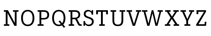 IvyStyle TW Regular Font UPPERCASE