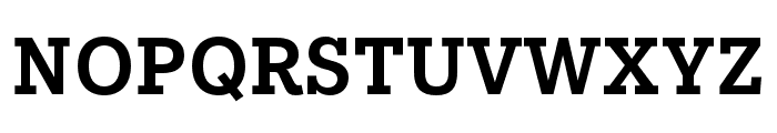 IvyStyle TW SemiBold Font UPPERCASE