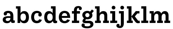 IvyStyle TW SemiBold Font LOWERCASE