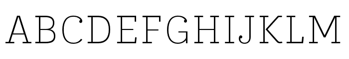 IvyStyle TW Thin Font UPPERCASE