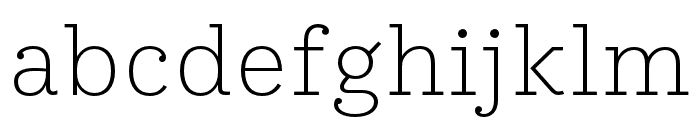 IvyStyle TW Thin Font LOWERCASE