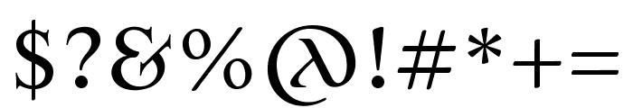 Jana Thork Pro Pro Font OTHER CHARS