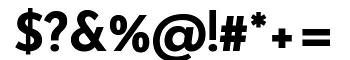 Josefin Sans Bold Font OTHER CHARS