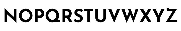 Josefin Sans Bold Font UPPERCASE