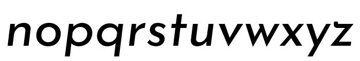 Josefin Sans Italic Font LOWERCASE