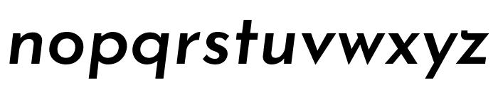 Josefin Sans SemiBold Italic Font LOWERCASE