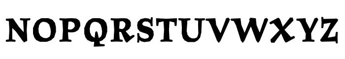 Journal OT Bold Font UPPERCASE