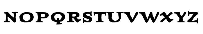 Journal OT BoldUltra Font UPPERCASE