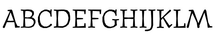 Journal OT Italic Font UPPERCASE