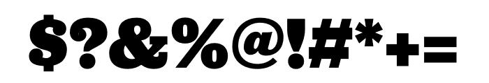 Jubilat Black Font OTHER CHARS