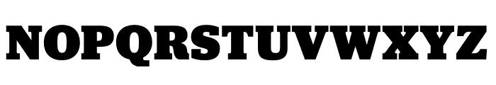 Jubilat Black Font UPPERCASE