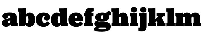 Jubilat Black Font LOWERCASE