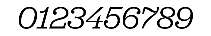 Jubilat Book Italic Font OTHER CHARS
