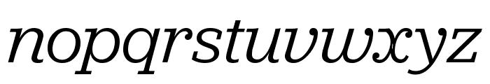Jubilat Book Italic Font LOWERCASE