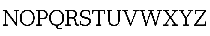 Jubilat Book Font UPPERCASE