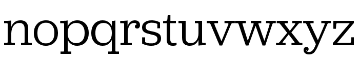 Jubilat Book Font LOWERCASE