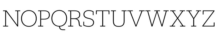 Jubilat Hairline Font UPPERCASE
