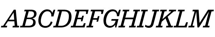 Jubilat Italic Font UPPERCASE