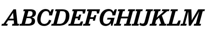 Jubilat Medium Italic Font UPPERCASE