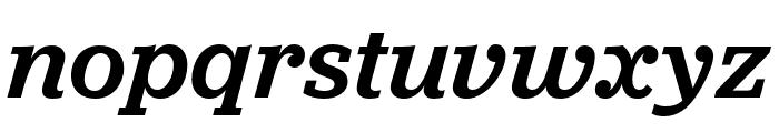 Jubilat Medium Italic Font LOWERCASE