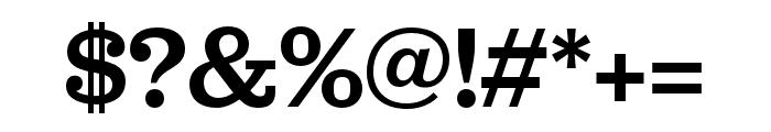 Jubilat Medium Font OTHER CHARS