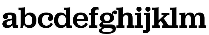 Jubilat Medium Font LOWERCASE