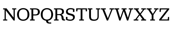 Jubilat Regular Font UPPERCASE