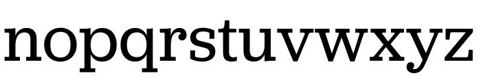 Jubilat Regular Font LOWERCASE