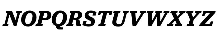 Jubilat Semibold Italic Font UPPERCASE