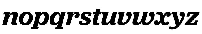 Jubilat Semibold Italic Font LOWERCASE