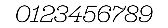 Jubilat SuperThin Italic Font OTHER CHARS
