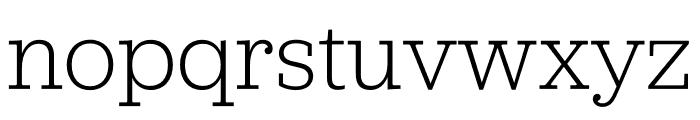 Jubilat SuperThin Font LOWERCASE
