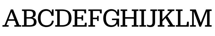 Jubilat Thin Font UPPERCASE