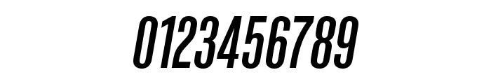 Kaneda Gothic Medium Italic Font OTHER CHARS